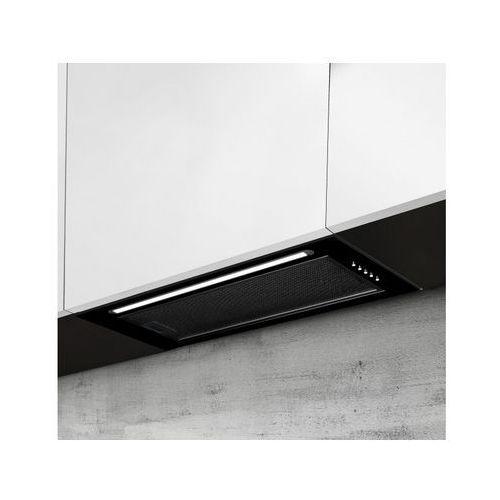 Afrelli Okap do zabudowy prima classic czarny 56,4 cm, 428 m3/h (5907670758819)