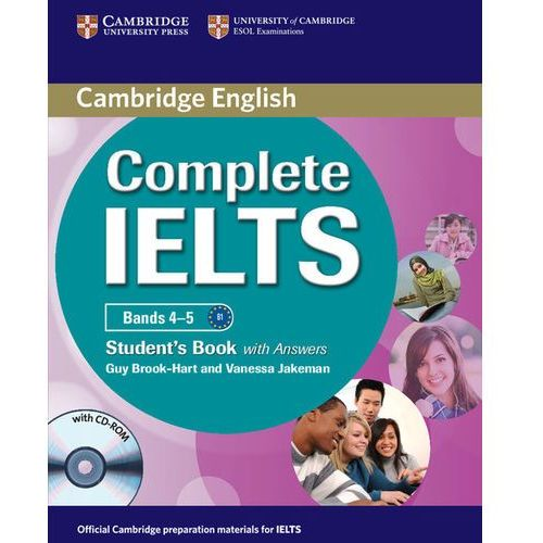 Complete IELTS Bands 4-5 Student's Book (podręcznik) with Answers and CD-ROM (Brook-Hart Guy, Jakeman Vanessa)