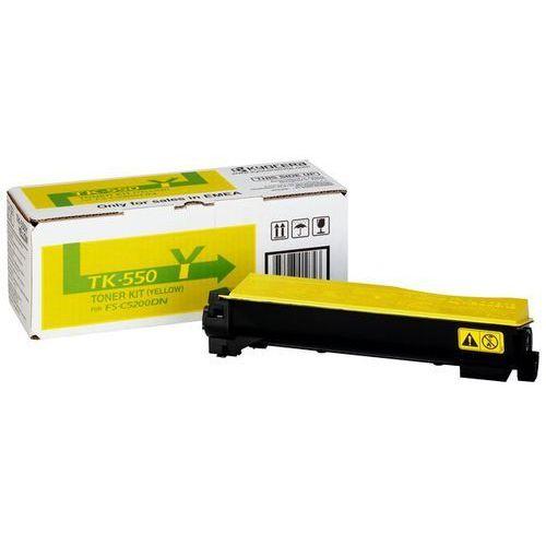 Oryginał Toner Kyocera TK-550Y do FS-C5200DN | 6 000 str. | yellow