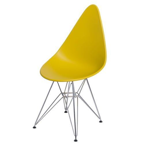 Krzesło rush dsr oliwkowy marki D2.design