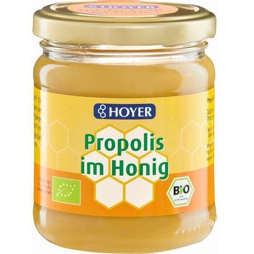 Hoyer Miód z propolisem bio 250 g -