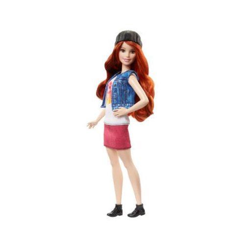 Barbie  fashionistas - lalka w bluzce z motywem kota