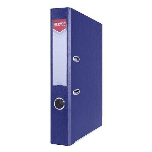 Office products Segregator dźwigniowy officer a4/55 z szyną granatowy 21011121-03 (5901503650547)