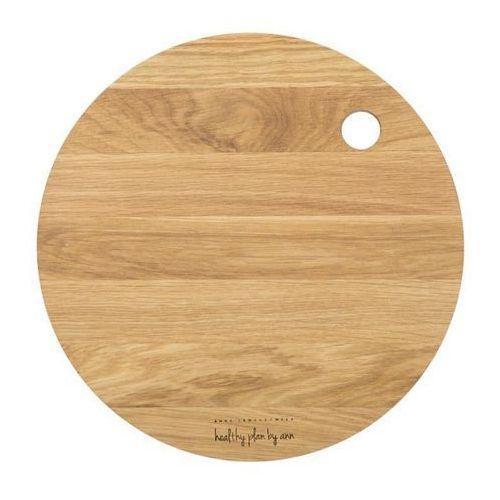 Healthy Plan by Ann - Deska do krojenia okrągła średnica: 27 cm