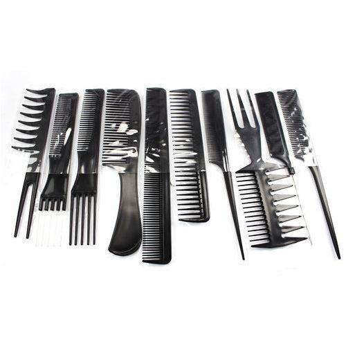 Smith chu Zestaw 10 x grzebień fryzjerski + etui grzebienie