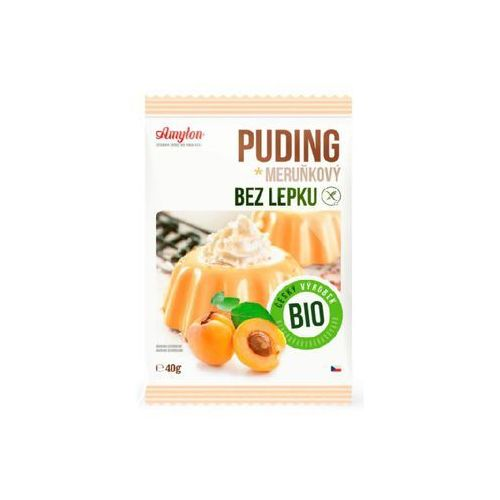 Budyń morelowy z kawałkami owoców bez glutenu BIO 40g