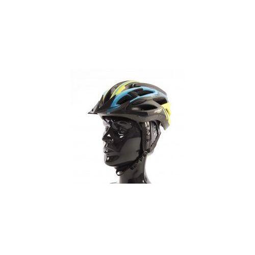 Kask rowerowy AXER LIBERTY YELLOW z daszkiem, 230075533