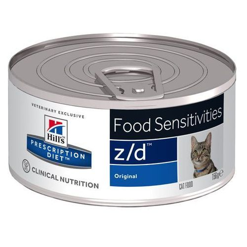 Hills Prescription Diet Feline z/d Food Sensitivities - 6 x 156 g