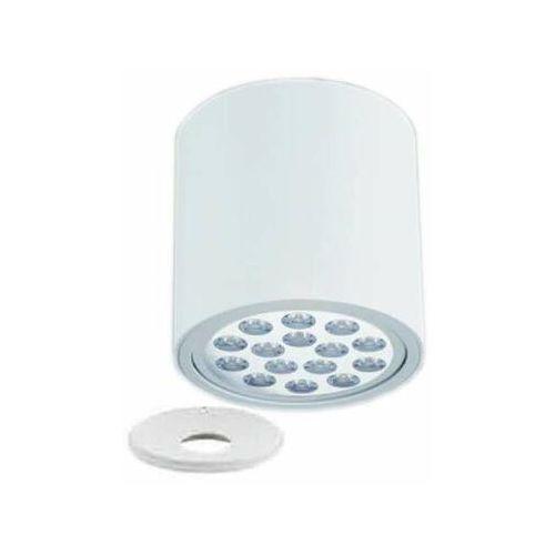 Spot lampa sufitowa neo bianco + ufo bianco okrągła oprawa metalowa tuba downlight biały marki Orlicki design