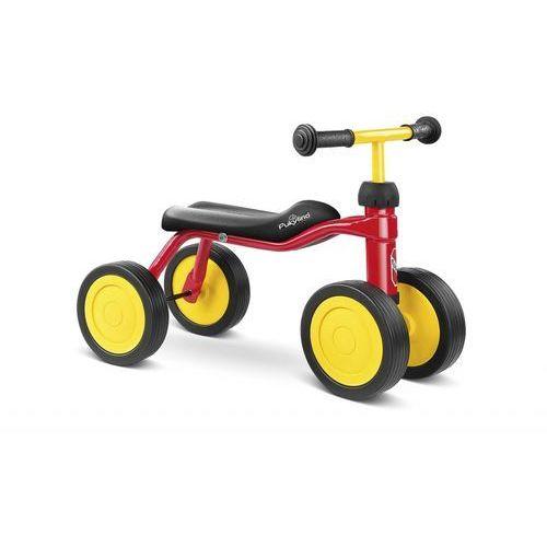 Puky  rowerek biegowy na czterech kółkach pukylino kolor czerwony 4019, kategoria: rowerki biegowe