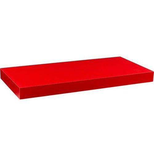Stilista ® Czerwona półka naścienna wisząca volato 90 cm - 90 cm (40070198)