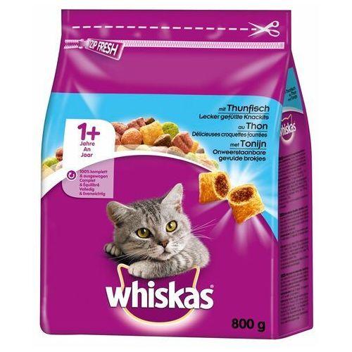 Whiskas 1+ z tuńczykiem - 3,8 kg (5900951258749)