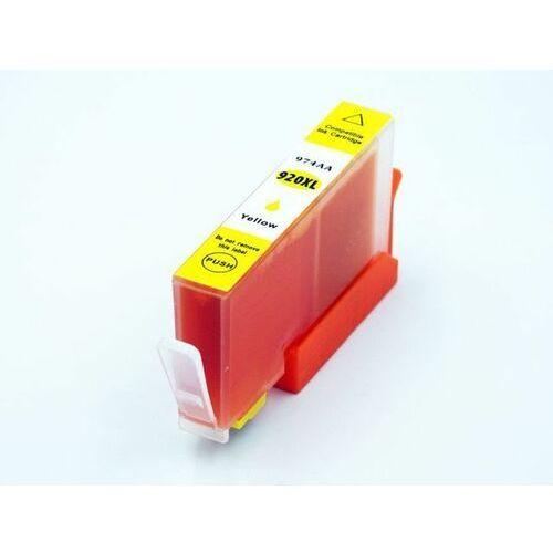 Zgodny tusz yellow 920xl do hp officejet 6000 6500 7000 7500 / 18ml / zamiennik / marki Dd-print