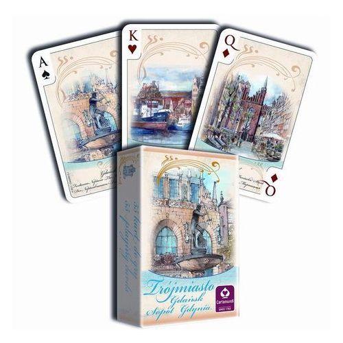 Cartamundi Karty do gry akwarele trójmiasto 55 listków