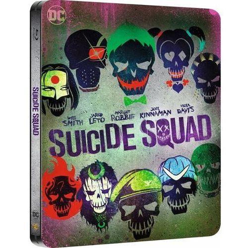 Legion Samobójców 3D Steelbook (Blu-ray) - David Ayer DARMOWA DOSTAWA KIOSK RUCHU