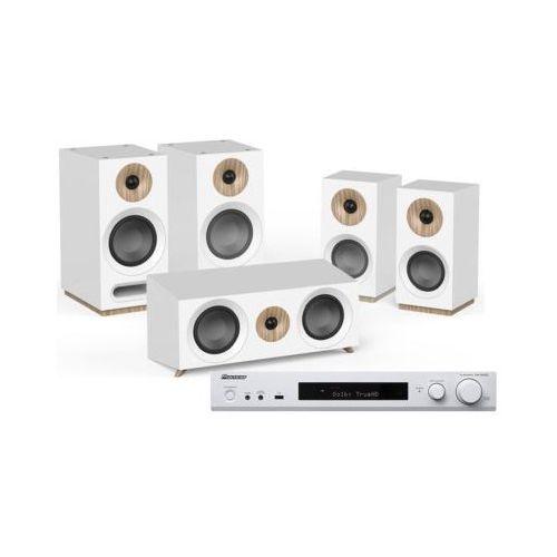 Kino domowe PIONEER VSX-S520D-W + JAMO S 803 HCS Biały (2909815903903)