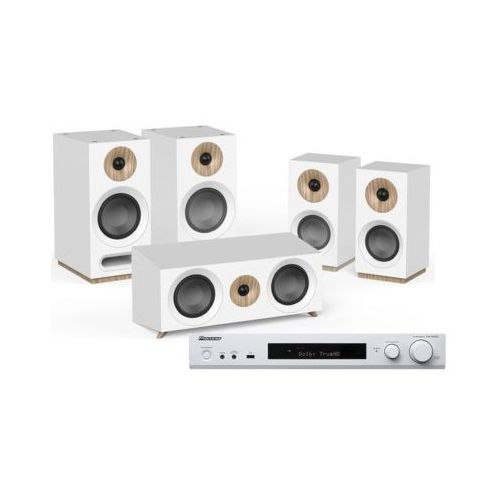 Pioneer Kino domowe vsx-s520d-w + jamo s 803 hcs biały (2909815903903)