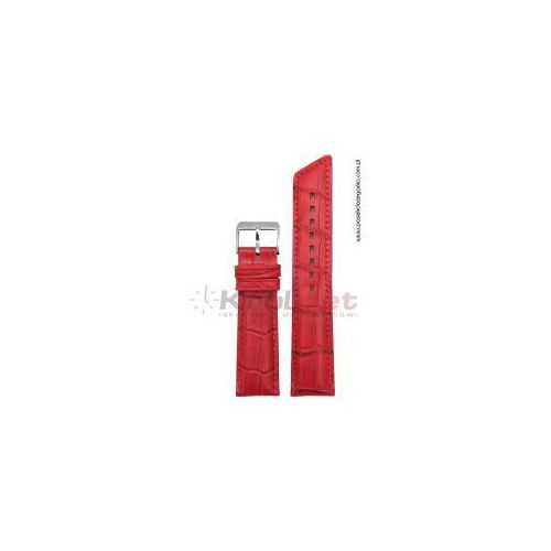 Pasek Hirsch Princess 20 mm - czerwony, kolor czerwony
