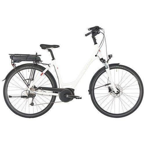 """bozen rower elektryczny trekkingowy biały 45cm (28"""") 2018 rowery elektryczne marki Ortler"""