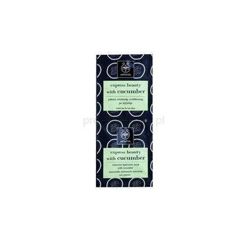 Apivita  express beauty cucumber ntensywnie nawilżająca maseczka + do każdego zamówienia upominek.