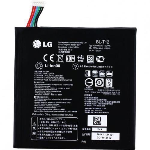 LG V400 G Pad 7.0 / BL-T12 4000mAh 15.2V Li-Polymer 3.8V (oryginalny)