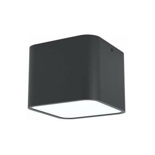 Eglo Grimasola 99283 plafon lampa sufitowa 1x28W E27 czarny, kolor Czarny