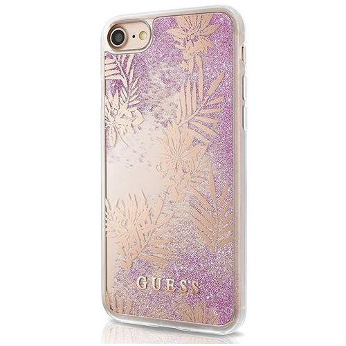 Guess guhcp7gluppi iphone 7 (fioletowy) - produkt w magazynie - szybka wysyłka!