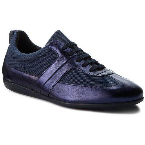 Sneakersy VERSACE COLLECTION - V900677 VM00378 V993 Blu Scuro/Blu