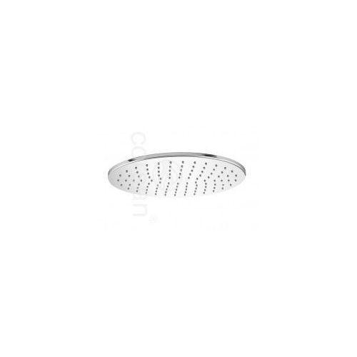 CORSAN Deszczownica owalna 30x20cm, mosiądz, chrom CMD030x20, CMD030x20