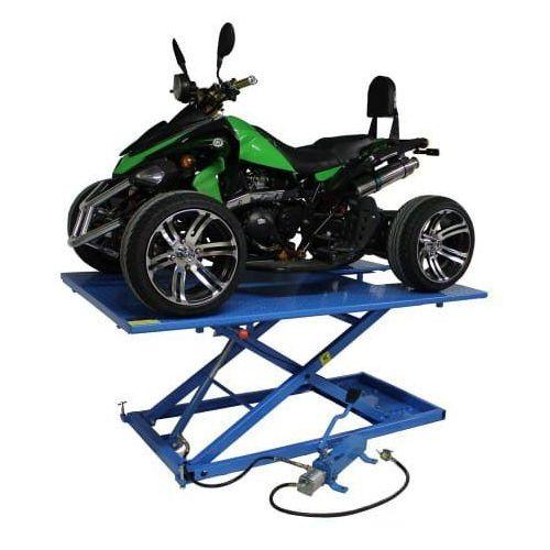 Podnośnik do quada hydrauliczno – pneumatyczny krzyżakowy 675 kg