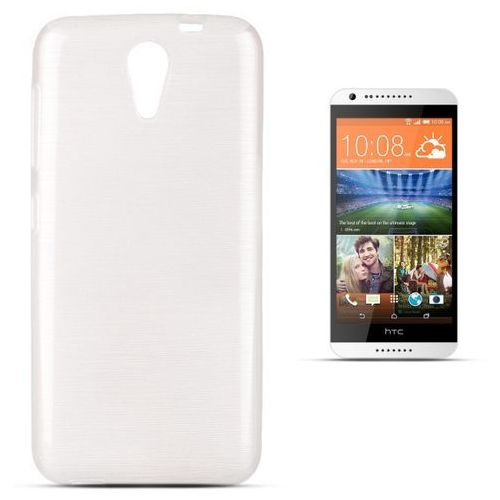 """Forcell """"jelly brush htc desire 620 / 620g"""" (white) (5901737290946)"""
