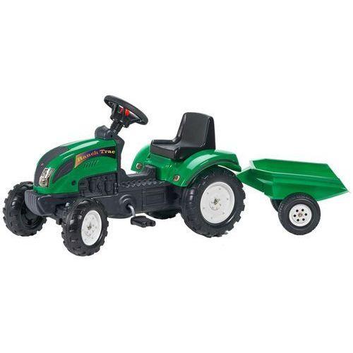 FALK Traktor z przyczepą, zielony 2/5 (3016200205210)