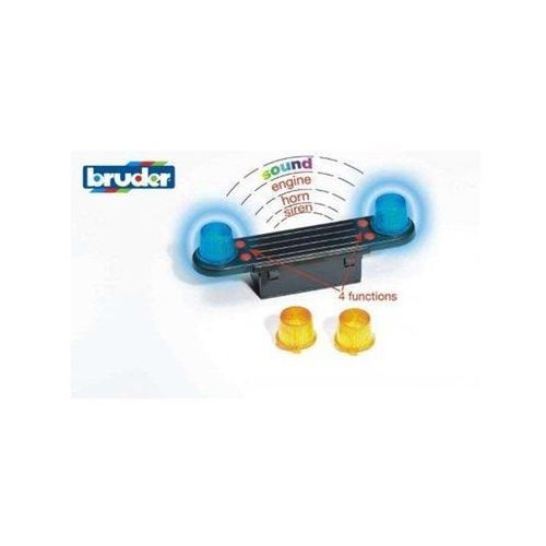 Bruder accessories: light and sound module (trucks) (4001702028015)