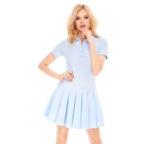 Sugarfree Sukienka marina w kolorze błękitnym