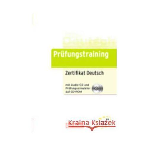 Zertifikat Deutsch (telc Deutsch B1), m. Audio-CD u. Prüfungssimulator auf CD-ROM