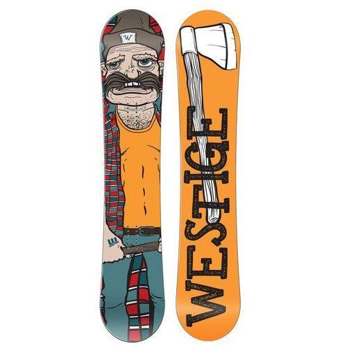 deska snowboardowa lumber jack 158 marki Westige