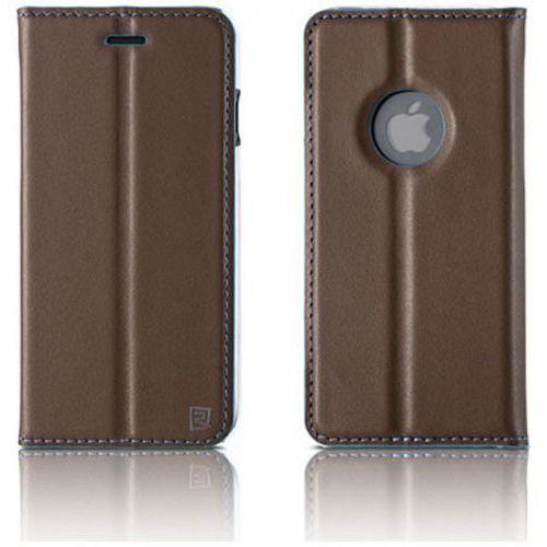 Etui kabura Remax Foldy series for iPhone 7 Brown, 47484