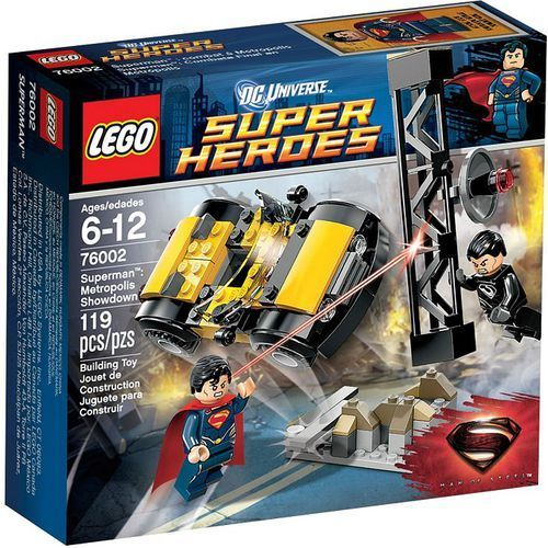 Lego SUPER HEROES Starcie w metropolis 76002