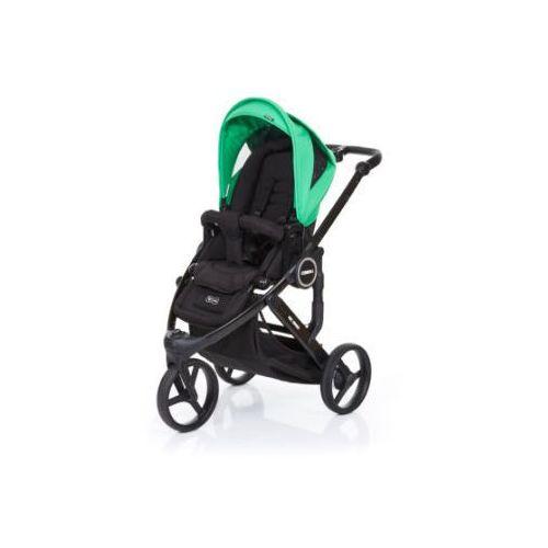 wózek dziecięcy cobra plus black-grass, stelaż black / siedzisko black, marki Abc design