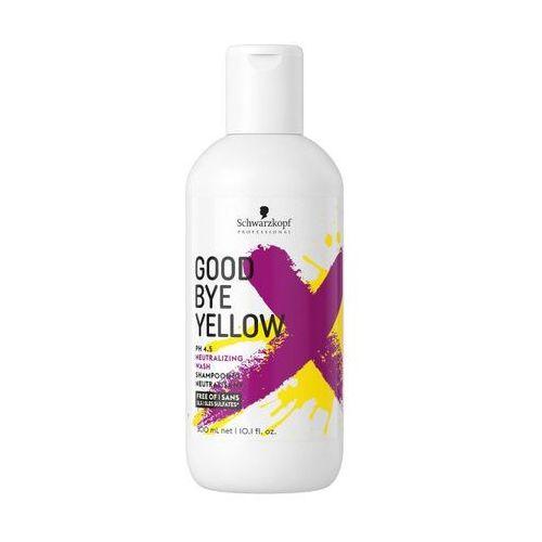 Schwarzkopf goodbye yellow | szampon neutralizujący żółte odcienie 300ml