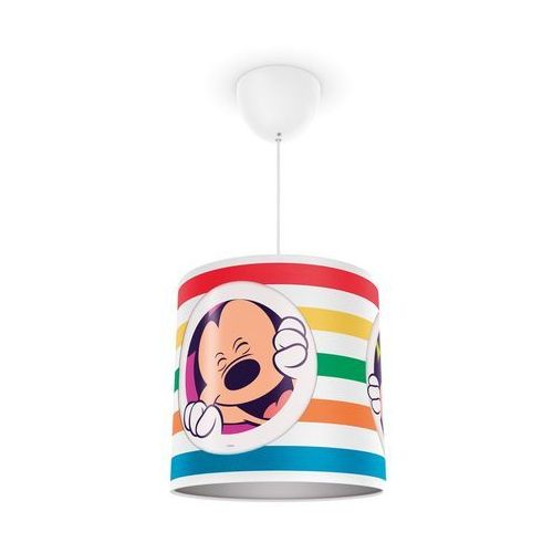 Philips 71752/30/16 - dziecięcy żyrandol disney mickey mouse 1xe27/23w/230v (8718291503040)
