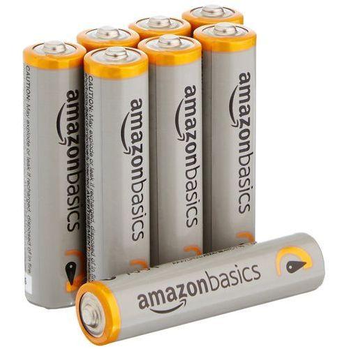 AmazonBasics Performance Alkaline Batteries AAA 8-szt. biały