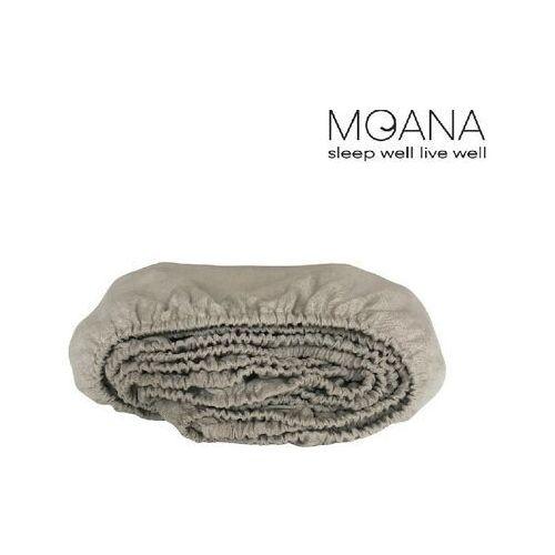 Moana Prześcieradło z gumką lniane , kolor - white, rozmiar - 180x200x40 wyprzedaż, wysyłka gratis, 603-671-572