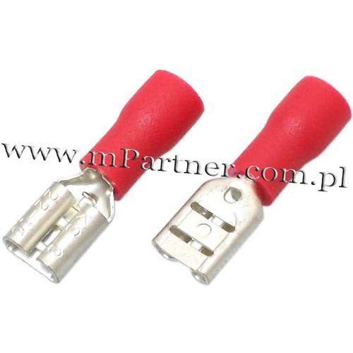 Mpartner Nasuwka konektor żeński 4,7 mm z osłoną do 1mm 100szt