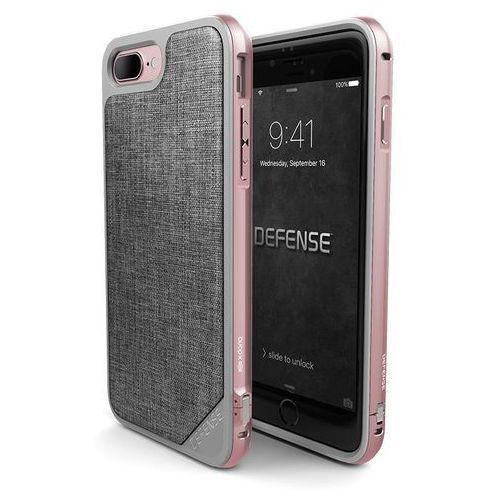 X-doria defense lux etui aluminiowe iphone 8 plus / 7 plus (rose gold/grey) (6950941449694)