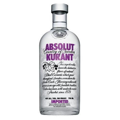 Wódka Absolut Kurant 0,7l (7312040020706) - Dobra cena!