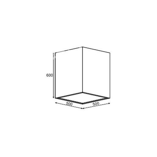 Plafon belona b6 3xe27 żarówki led gratis!, 1303b6e3+ marki Cleoni