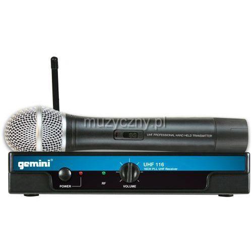 Gemini UHF-116M mikrofon bezprzewodowy