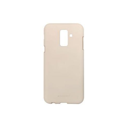 Samsung Galaxy A6 Plus (2018) - Mercury Goospery Soft Feeling - piaskowy róż, ETSM720GMSFPIA000