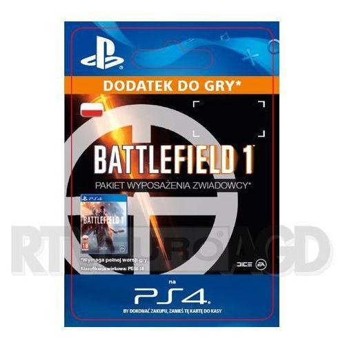 Battlefield 1 - Pakiet Wyposażenia Zwiadowcy [kod aktywacyjny]